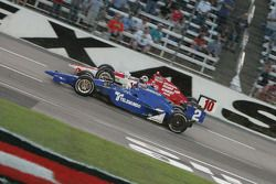 Oriiol Servia, Newman/Haas Racing, Dario Franchitti, Target Chip Ganassi Racing