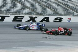 Marco Andretti, Andretti Autosport and Helio Castroneves, Team Penske