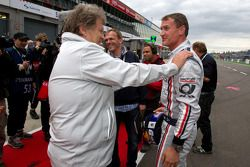 Norbert Norbert Haug, Sporting Director Mercedes-Benz en David Coulthard, Mücke Motorsport