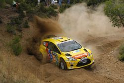 Henning Solberg et Ilka Minor, Ford Fiesta RS WRC, M-Sport Stobart Ford World Rally Team