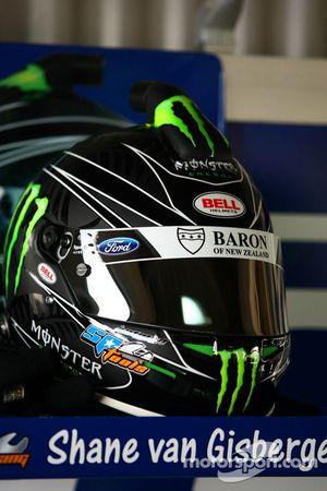 Shane van Gisbergen's helm