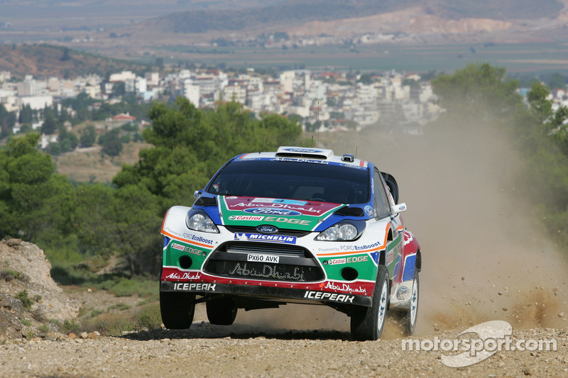 Jari-Matti Latvala y Miikka Anttila, Ford Fiesta RS WRC, BP Ford Abu Dhabi World Rally Team