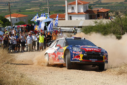 Sebastien Loeb and Daniel Elena, Citroën DS3 WRC, Citroën Total World Rally Team