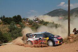 Sebastien Ogier en Julien Ingrassia, Citroen DS3 WRC, Citroen Total World Rally Team
