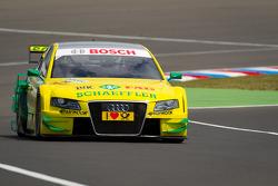 Martin Tomczyk, Audi Sport Team Phoenix Audi A4 DTM during recon lap