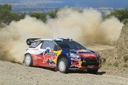 Sebastien Ogier and Julien Ingrassia, Citroen DS3 WRC, Citroen Total World Rally Team