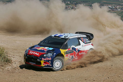 Sebastien Ogier y Julien Ingrassia, Citroen DS3 WRC, Citroen Total World Rally Team