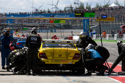 Parada de pits para David Coulthard, Mücke Motorsport, AMG Mercedes C-Klasse