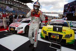 Race winner Martin Tomczyk, Audi Sport Team Phoenix celebrates