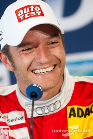 Press conference: second place Timo Scheider, Audi Sport Team Abt