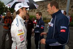 Andy Priaulx and Alexander Wurz
