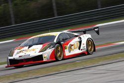 #88 JLOC Lamborghini RG-3: Hiroyuki Iiri, Yuhi Sekiguchi;