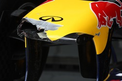 Red Bull Racing, RB7 broken nose cone