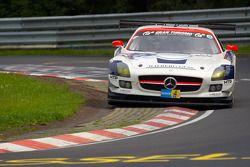 #32 Heico Motorsport Mercedes-Benz SLS AMG GT3: Lance David Arnold, Alexandros Margaritis, Christoph