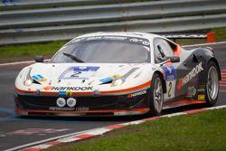 #2 Hankook Team Farnbacher Ferrari F458 Italia GT: Dominik Farnbacher, Allan Simonsen, Marco Seefried, Jaime Melo