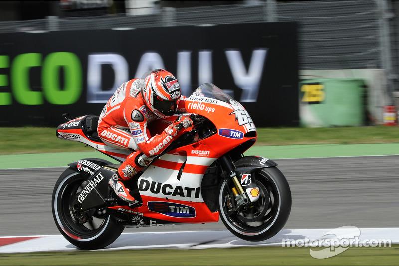 2011: Nicky Hayden, Ducati, MotoGP