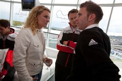 Christina Surer, Marc Lieb en Timo Bernhard