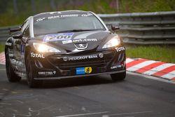 #200 Team Peugeot RCZ Nokia Peugeot RCZ HDI: Alexandre Pr_©mat, Jonathan Cochet, Bruce Jouanny
