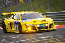 #16 Audi Sport Team Abt Sportsline Audi R8LMS: Mattias Ekström, Timo Scheider, Marco Werner, Christi