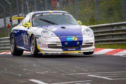 El #48 Porsche Center Vaest Porsche 996 GT3 Cup: Christer Pernvall, Claes Lund, Hans Andreasson, Pat