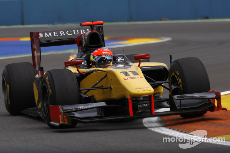 Romain Grosjean, kampioen met DAMS in de GP2 2011.