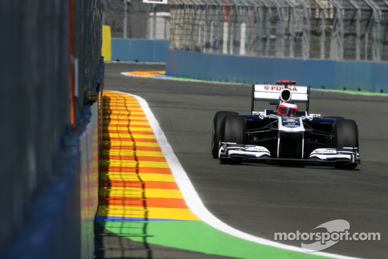 2011: Williams, 17º no campeonato (4 pts)
