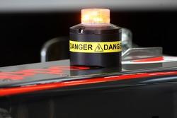 McLaren Mercedes KERS warning light