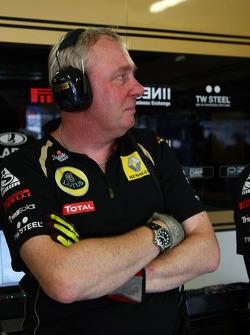 Lotus Renault GP mechanic