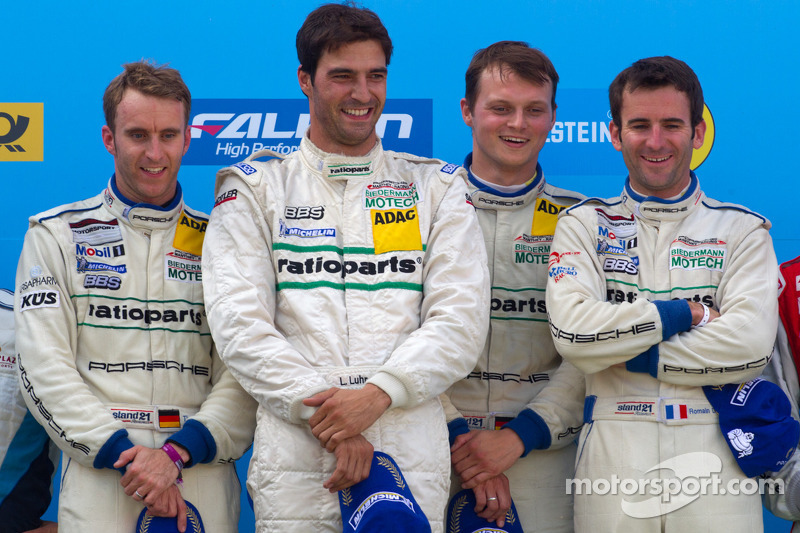 2011: Marc Lieb, Lucas Luhr, Romain Dumas, Timo Bernhard