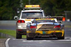 El #4 Need for Speed Team Schubert BMW Z4GT3: Marko Hartung, Jörg Viebahn, Tom Coronel, Claudia Hürt