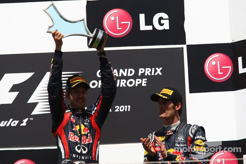 Sebastian Vettel, Red Bull Racing und Mark Webber, Red Bull Racing