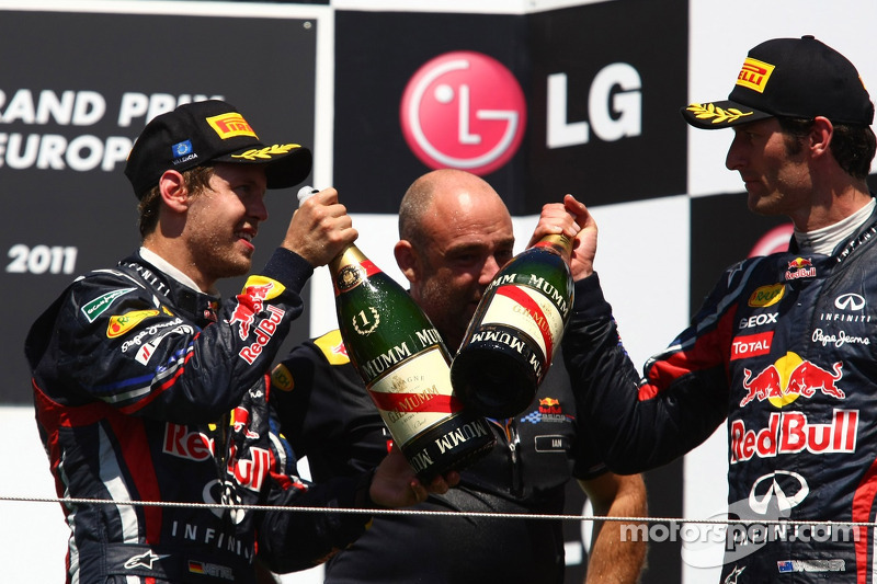 Sebastian Vettel, Red Bull Racing ve Mark Webber, Red Bull Racing