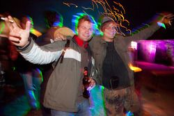 Trackside partying at Brunnchen