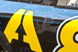 Militaire stickers op de wagen van Brian Simo, Whitney Motorsports ARMA Energy Ford