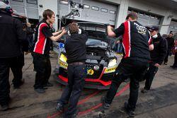 #126 Raeder Motorsport Audi TT RS: Michael Ammermüller, Jimmy Johansson, Jens Klingmann, Miguel Molina