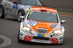 #151 Sponsorcard: MSC Adenau e.V. Seat Leon MK2: Winfried Lobe, Stefan Michels