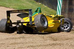 Felipe Nasr gecrashte wagen