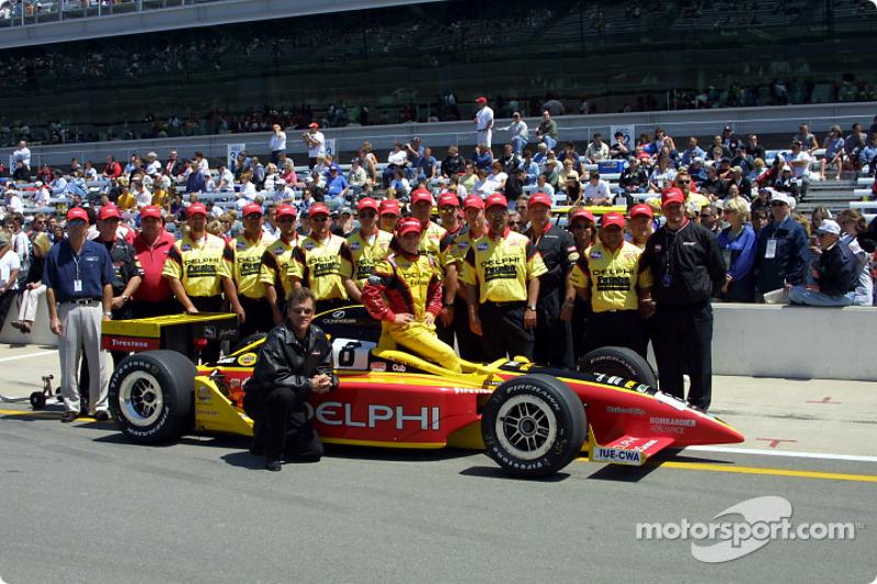 Scott Sharp and Kelley Racing