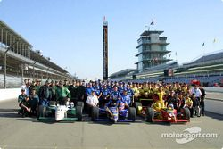 Front row for the 85th Indianapolis 500