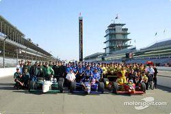 Première lignes pour la 85e édition des 500 Miles d'Indianapolis