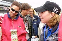 Minnie Driver, Erik Palladino and Sarah Fisher