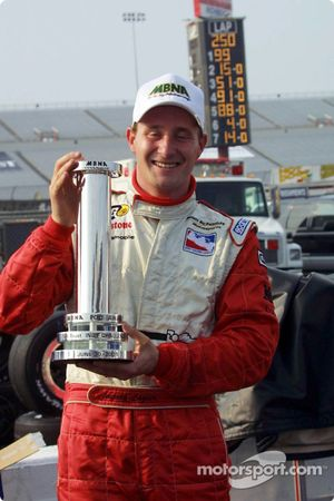 Jaques Lazier and the MBNA Pole Award
