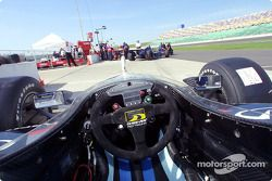 Cockpit: Cheever Indy Racing Infiniti