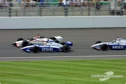 Race action: Shigeaki Hattori, Didier André and Jeret Schroeder