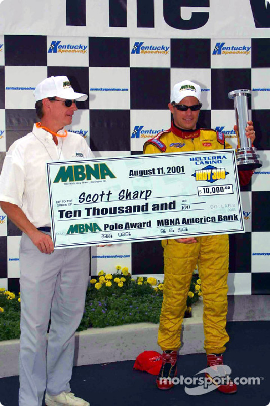 MBNA Pole winner Scott Sharp