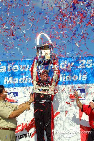 Al Unser Jr. Et son trophée