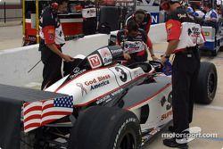 New paint scheme on Didier André's car