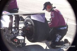 Concentration during a pit stop