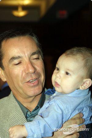Eliseo Salazar avec son fils, Eliseo VI