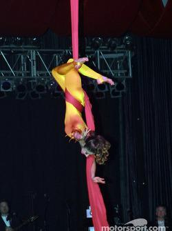 Cirque du Soleil performer